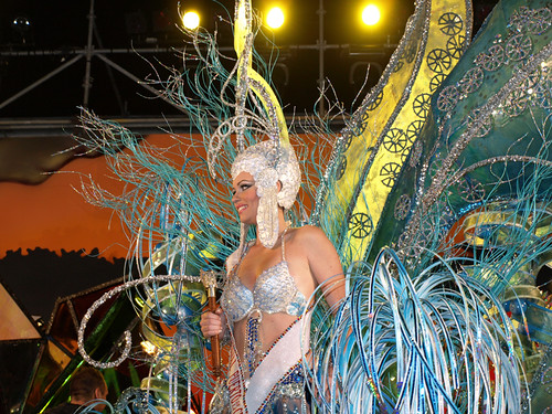 A truly beautiful Carnaval Queen
