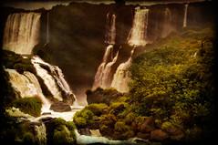 5 continents in 5 days - South America - Iguazu Falls, Brazil (MDSimages.com) Tags: travel brazil texture southamerica waterfall blog nikon textures iguazufalls travelphotography stucktextures michaelsteighner mdsimages