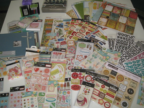 Lovely scrapbooking goodies
