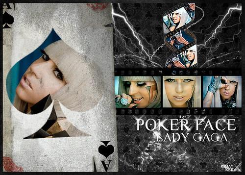 Lady Gaga - Poker Face  von kervinrojas.