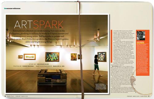 Seair Inflight Insider's Guide: Art Spark