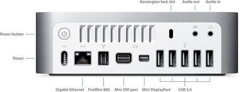mac mini 2009 feature