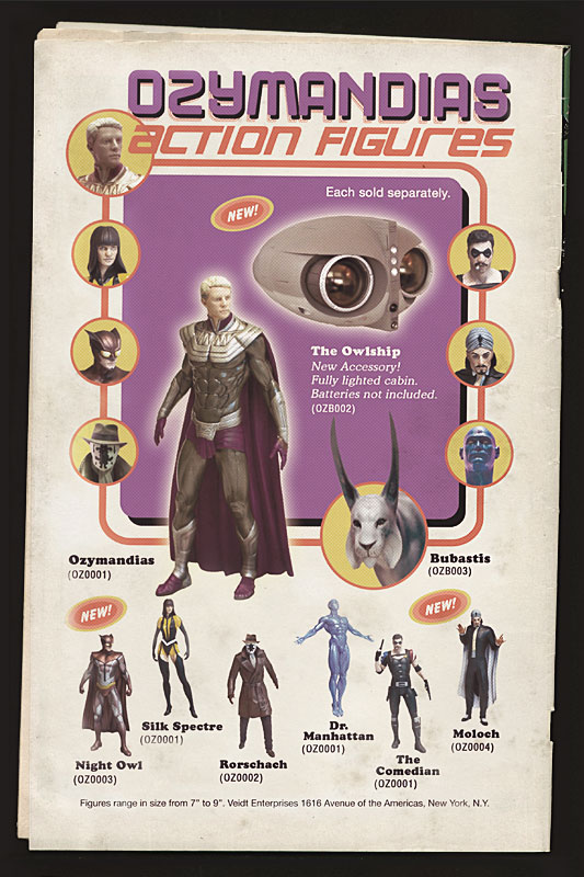 OZYMANDIAS Action Figures