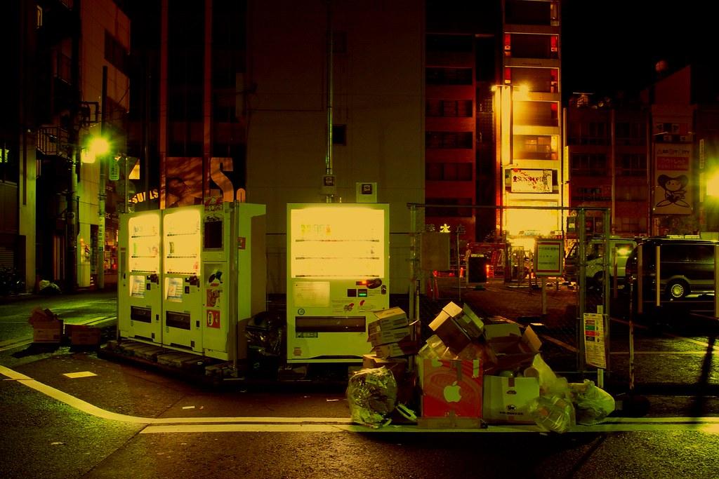 midnight in Akihabara