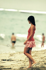 Beauty on the Beach (KY-Photography) Tags: sea summer ontario canada hot beach water girl beautiful beauty sand nikon pretty dof bokeh dominicanrepublic ky candid gorgeous guelph resort crossprocessing nikkor khalid allrightsreserved kal puertoplata fauxvintage explored d80 nikond80 18135mmf3556g kyphotography