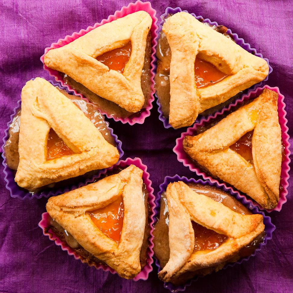 Hamantaschen Cupcakes