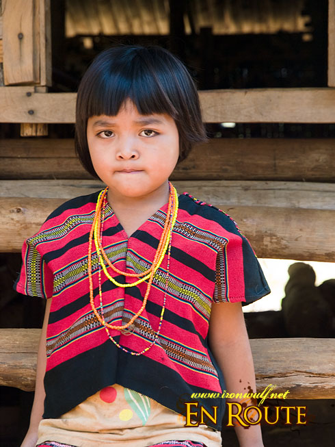 Laven Ethnic Tribe Girl