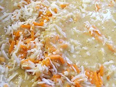 Folding in the Carrots and Coconut