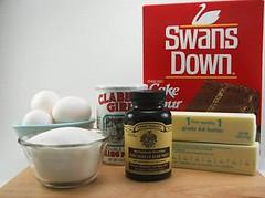 Toasted Coconut Pound Cake Fixins'