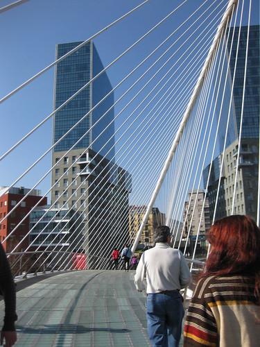 Santiago Calatrava walking bridge