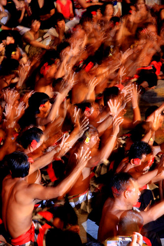 Balinese Men Kecak Chanting