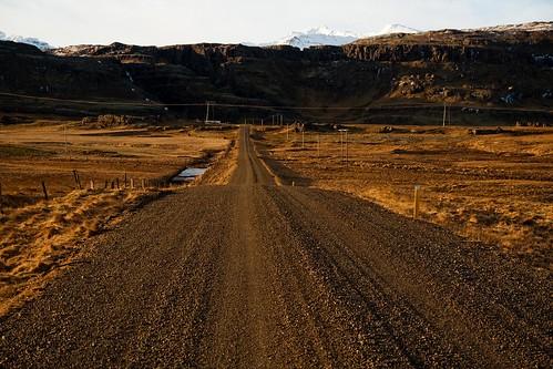 Road to glaciar
