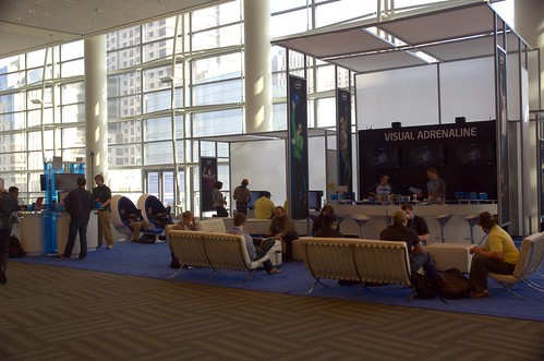 Intel Booth on the 3rd Floor of Moscone West