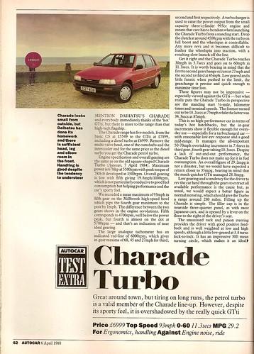 Daihatsu Charade 1.0 Turbo Test 1988 1 Daihatsu+charade+turbo+G11 ...