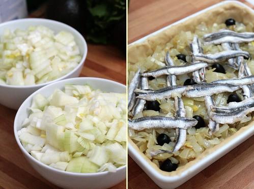 1kg d'oignons mijotés à l'huile d'olive
