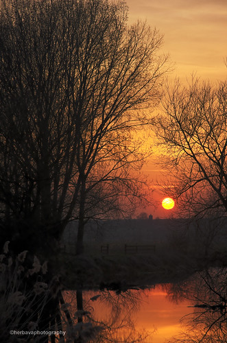 Sunset-over-Weston-Underwood