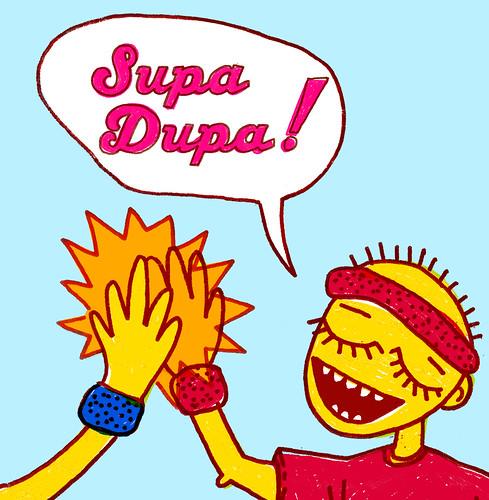 Supa Dupa! - CD cover 5