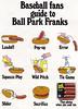 Vintage Ad #780: Baseball Fans Guide to Ball Park Franks
