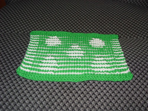 Easter Egg Dishcloth