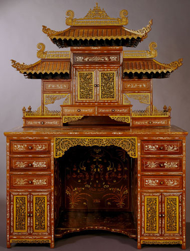 Chinese Desk Displayed at the 1904 World's Fair
