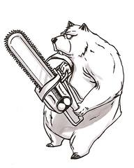 eavil bear by PixLjUicE23