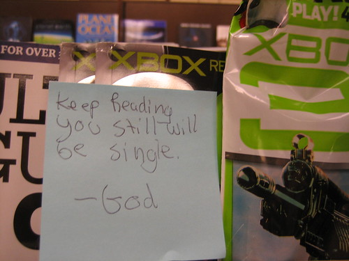 Keep Reading You still will be single. - God
