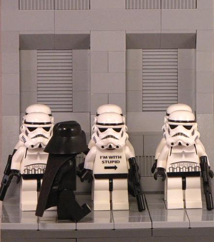 Lego storm trooper custom decal custom minifig