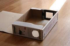 Shoebox Slide Duplicator 2 of 3 (svofski) Tags: diy scanner slide cardboard dslr shoebox digitizing duplicator