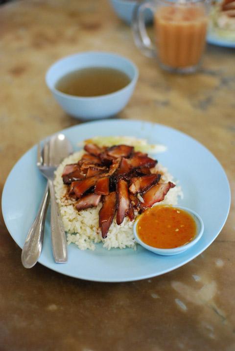 pork and rice, malaysia