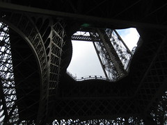 Eiffel Tower Underbelly