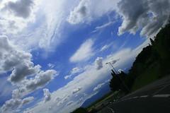 run rabbit run (jasonjerbil) Tags: sky sun rabbit clouds canon canoneos400d canoneosrebelxtikissdigitalx