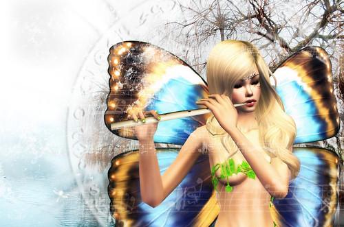 Fairy Musician by Nehellenia.