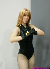 Black Canary: Judo? (Roxanna Meta) Tags: comics dc costume comic cosplay blackcanary wondercon unitedunderworld wondercon2009