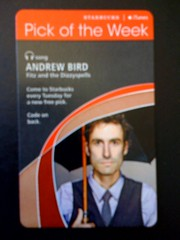 Starbucks iTunes Pick of the Week - Andrew Bird - Fitz and the Dizzyspells