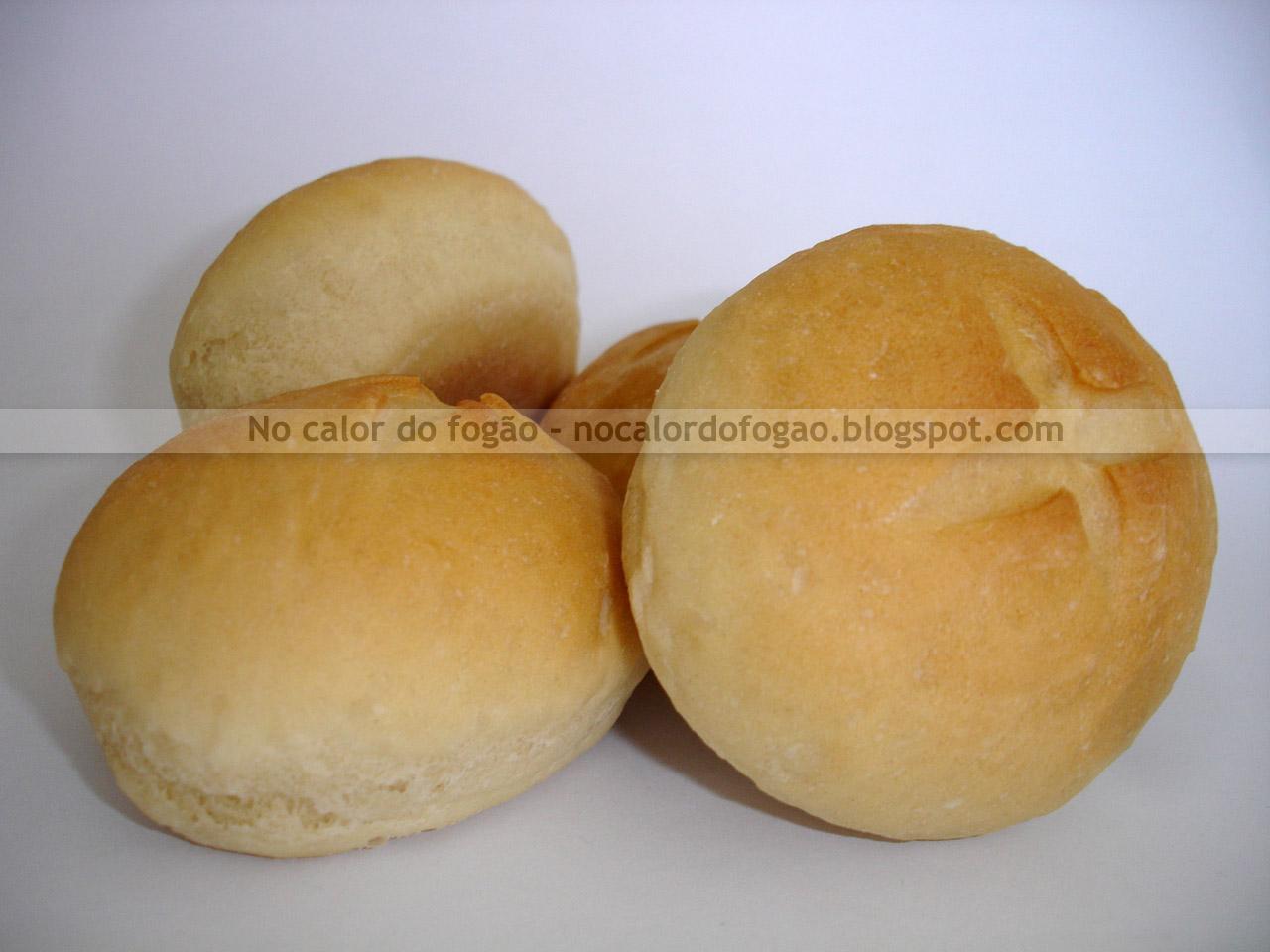 Pão branco da fazenda