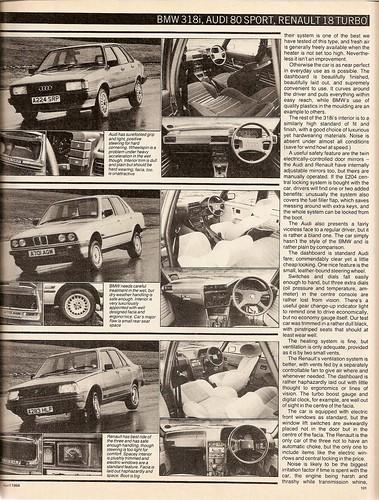 80 Sport & BMW 318i 1984 4