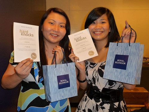 Royal Selangor School of Hard Knocks - Suanie and Rachel