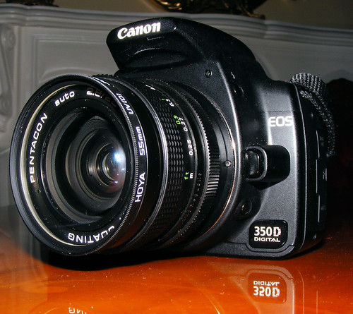 Pentacon 28mm F2.8 On Canon 350d Rebel XT
