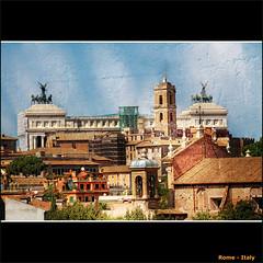 Rome, Italy (CGoulao) Tags: city trip cidade italy rome roma texture tourism monument capital turismo photoshope