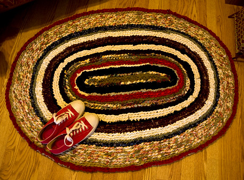 Large Oval Rug DONE!