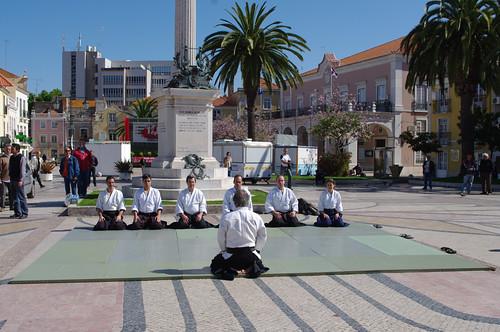 demontração na Praça do Bocage 1MAIO2009 #6