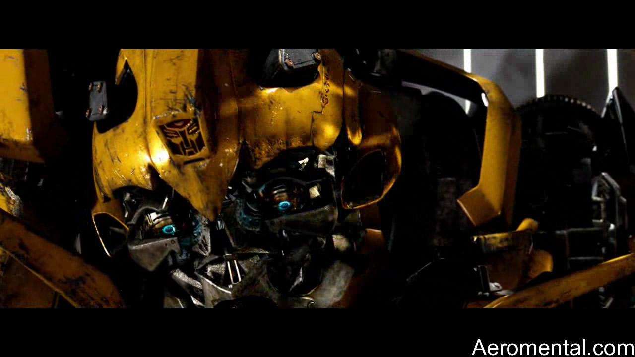 Transformers 2 Bumblebee cabeza HD