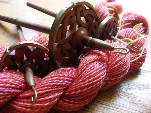 Merino/Silk - spindle spun