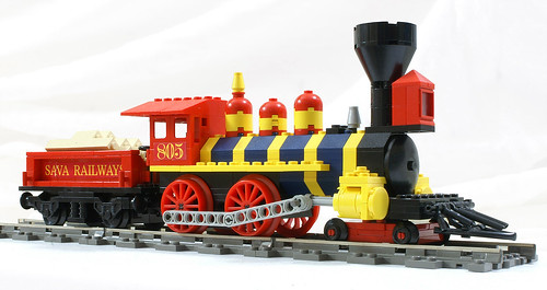 LEGO Train Custom Set