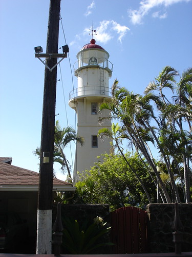 Lighthouse on Diamond Head Road Honolulu, Hawaii