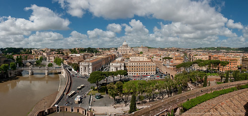 YOTOT(MC): Castel Sant'Angelo panorama - by Yaisog Bonegnasher, on Flickr