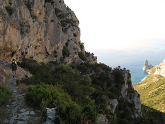 Verso Punta Giradili - Arrampicare in Sardegna