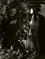 i felt lost. (queen killed the joker...) Tags: flowers summer plants sun sunglasses garden bench ray cola dr coke smoking british kills coca bans martens