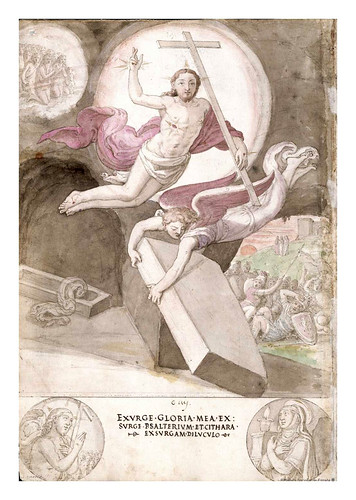 016- La resurreccion de Jesus- De Aetatibus Mundi Imagines