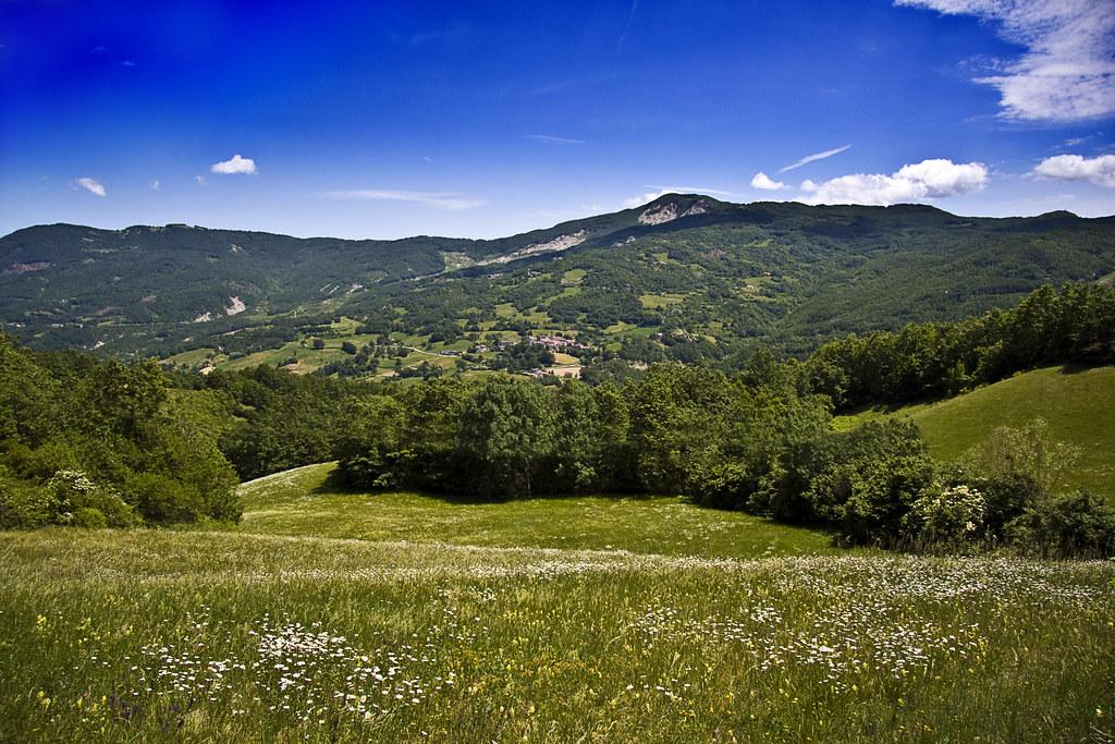Panorama from Passo della Cisa #1